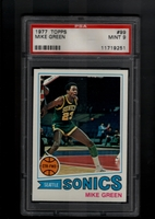 1977 Topps #099 Mike Green PSA 9 MINT SEATTLE SONICS