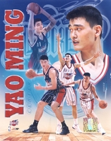 Yao Ming Houston Rockets Composite 8X10 Glossy Photo by Photofile