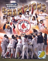 2004 Boston Red Sox World Champs Composite 8X10 Glossy Photo by Photofile