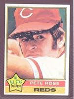 1976 Topps #240 Pete Rose NM CINCINNATI REDS crease free