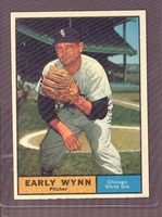 1961 Topps #455 Early Wynn NM+ CHICAGO WHITE SOX crease free