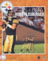 Ben Roethlisberger PITTSBURGH STEELERS 8X10 Lenticular3D Photo by Motion Imaging