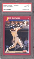 1991 Score Traded #96T Jeff Bagwell (R) PSA 9 MINT ASTROS
