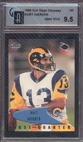 1999 Collectors Edge Odyssey #123 Kurt Warner (R) GAI  9.5 GEM MINT RAMS