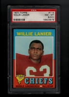 1971 Topps #114 Willie Lanier RC  PSA 8oc NM-MT    KANSAS CITY CHIEFS