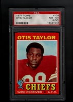 1971 Topps #139 Otis Taylor  PSA 8oc NM-MT     KANSAS CITY CHIEFS