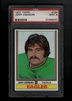 1974 Topps #164 Jerry Sisemore PSA 9 MINT   PHILADELPHIA EAGLES
