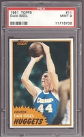 1981 Topps #11 Dan Issel  PSA 9 MINT DENVER NUGGETS