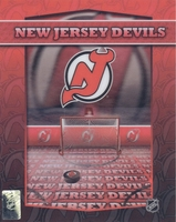 NEW JERSEY DEVILS Team logo 8X10 Lenticular 3D Poster by Motion Imaging