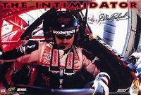"1998 Dale Earnhardt #3 ""The Intimidator"" Original Starline Poster OOP"