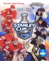 2008 Stanley Cup Composite Penguins Red Wings 8X10 Photo by Photofile Crosby