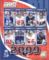 2009 NY Giants Composite 8X10 Glossy Photo by Photofile Manning Tuck Umenyiora