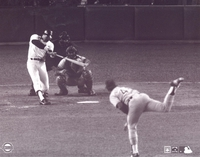 1977 Reggie Jackson NY Yankees WS 1st HR vs Dodgers Hooton 8X10 Photo by Steiner