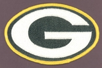 Green Bay Packers 5 inch embroidered Patch
