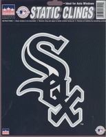 12 Chicago White Sox 6 inch Static Cling Stickers