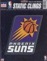 12 Phoenix Suns 6 inch Static Cling Stickers
