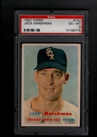 1957 Topps #152  Jack Harshman  PSA 6 EX-MT  CHICAGO WHITE SOX