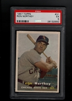1957 Topps #031 Ron Northey PSA 5 EX  CHICAGO WHITE SOX