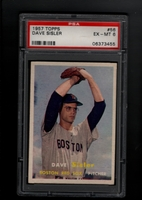 1957 Topps #056  Dave Sisler  PSA 6 EX-MT  BOSTON RED SOX