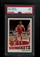 1977 Topps #037 Mike Newlin PSA 9 MINT HOUSTON ROCKETS